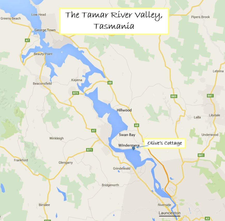 Tamar Valley Map 3